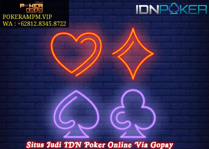 Situs Judi IDN Poker Online Via Gopay